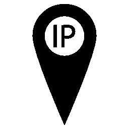 IP アドレス ポイント ロケーター無料アイコン
