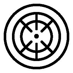 ダーツ ボード ターゲット無料アイコン