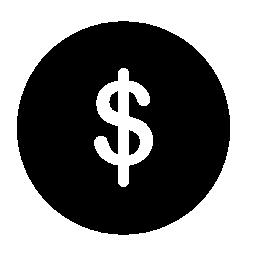 ドル通貨シンボル無料アイコン