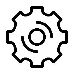 マシンのホイールの無料のアイコン