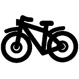 マウンテン バイク概要無料アイコン