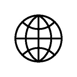 円形グリッド無料アイコン