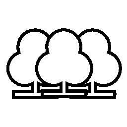 ツリー グループ、IOS 7 インタ フェース シンボル無料アイコン