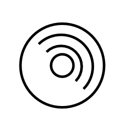 ディスクの概要の無料のアイコン