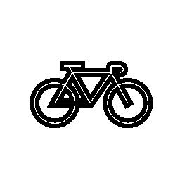 道路自転車無料アイコン