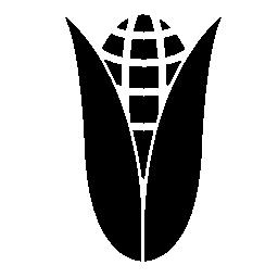 トウモロコシ葉の無料アイコン