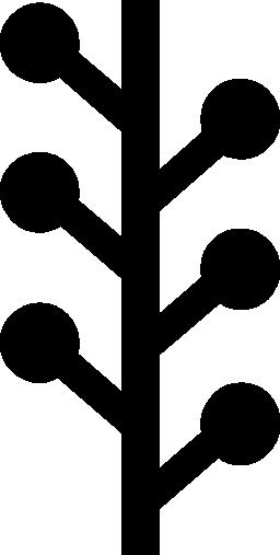 ツリー グラフの無料アイコン