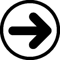 サークル無料アイコンの矢印