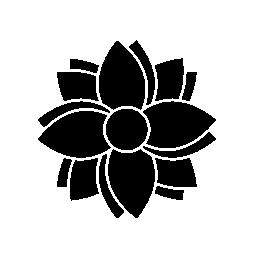 ブルーム日本装飾無料アイコン