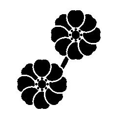 生け花の審美的な配置の無料のアイコン