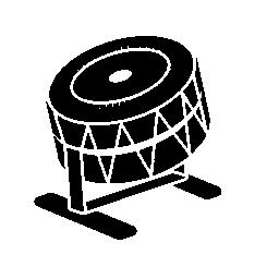 ドラム音楽無料アイコン
