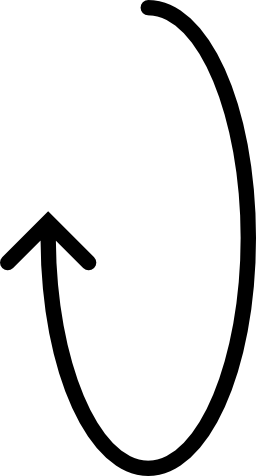 楕円形の回転矢印無料アイコン