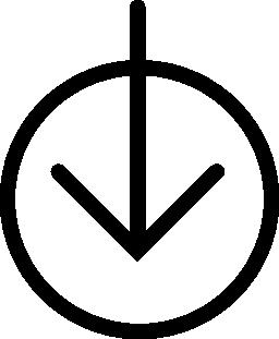 サークル概要無料のアイコンの下矢印