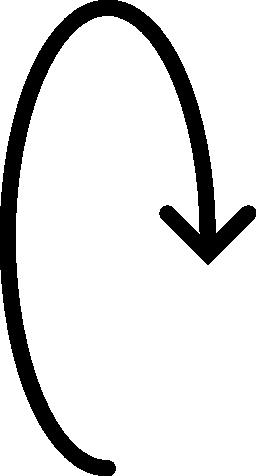 回転する矢印無料アイコン