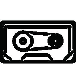 カセット テープ概要無料アイコン