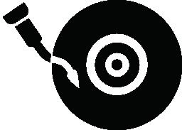 ビンテージの cd プレーヤー無料アイコン