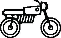 バイク自転車概要無料アイコン