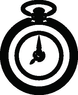 ビンテージ ロケット時計無料アイコン