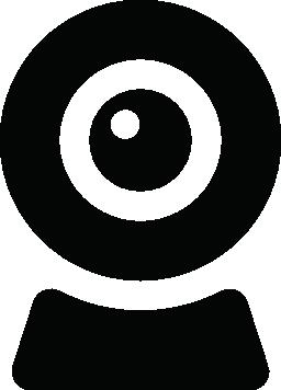 コンピューターの web カメラ無料アイコン