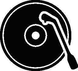 古い音楽ディスク プレーヤー無料アイコン