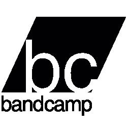 Bandcamp バリアント ロゴ無料アイコン