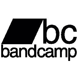 Bandcamp ロゴタイプ無料アイコン