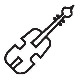 チェロ楽器無料アイコン