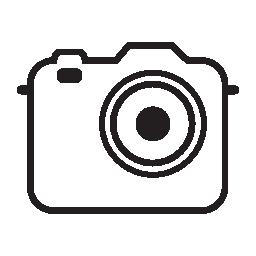 写真カメラ、IOS 7 インタ フェース シンボル無料アイコン