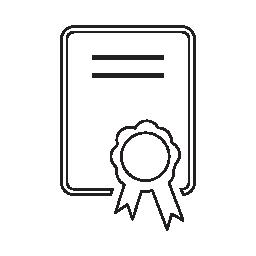 証明書、IOS 7 インタ フェース シンボル無料アイコン