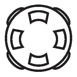 リング ブイ、IOS 7 インタ フェース シンボル無料アイコン