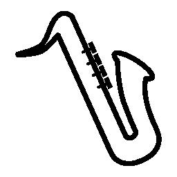 楽器サックス、IOS 7 インタ フェース シンボル無料アイコン