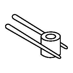 寿司とお箸、IOS 7 インタ フェース シンボル無料アイコン