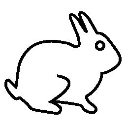 ウサギ、IOS 7 インタ フェース シンボル無料アイコン