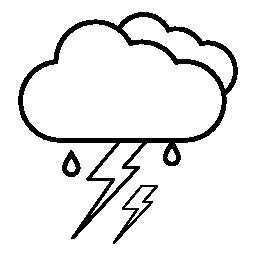 無料の天気アイコンの軽く、IOS 7 インターフェイスの記号