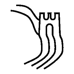 万里の長城、IOS 7 インタ フェース シンボル無料アイコン