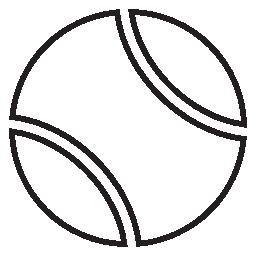 テニス ボール無料アイコン