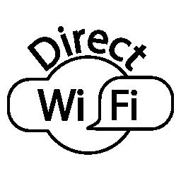 Wifi、直接 IOS 7 インタ フェース シンボル無料アイコン