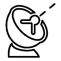アンテナ皿信号、IOS 7 シンボル無料アイコン