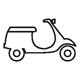 スクーター、IOS 7 インタ フェース シンボル無料アイコン