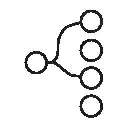 階層構造の無料アイコン