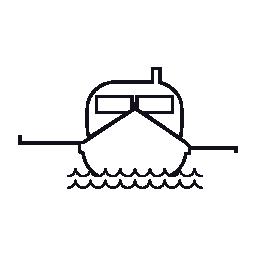 釣り、ボート、IOS 7 インタ フェース シンボル無料アイコン