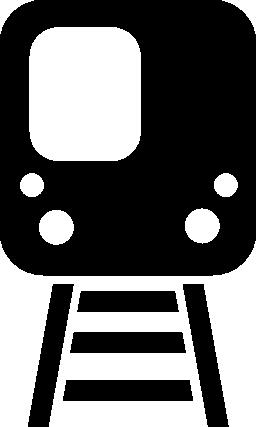 鉄道線無料アイコン