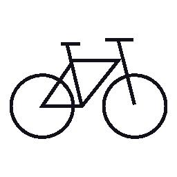 自転車、IOS 7 インタ フェース シンボル無料アイコン