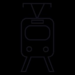 鉄道前面、IOS 7 インタ フェース シンボル無料アイコン