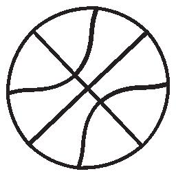 バスケット ボールの無料アイコン