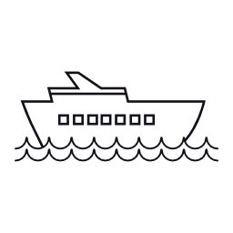 クルーズ船、IOS 7 インタ フェース シンボル無料アイコン