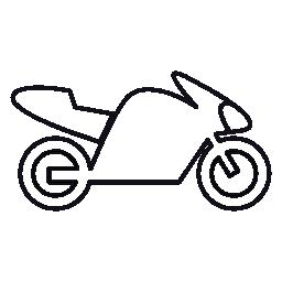 モーター、IOS 7 インタ フェース シンボル無料アイコンと自転車