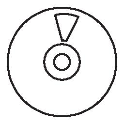 CD、IOS 7 インタ フェース シンボル無料アイコン