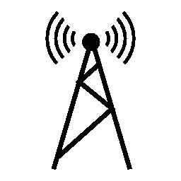 携帯電話タワー、IOS 7 インタ フェース シンボル無料アイコン