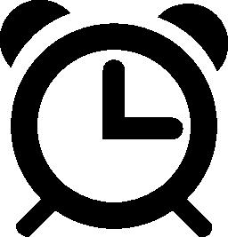 時計無料アイコン